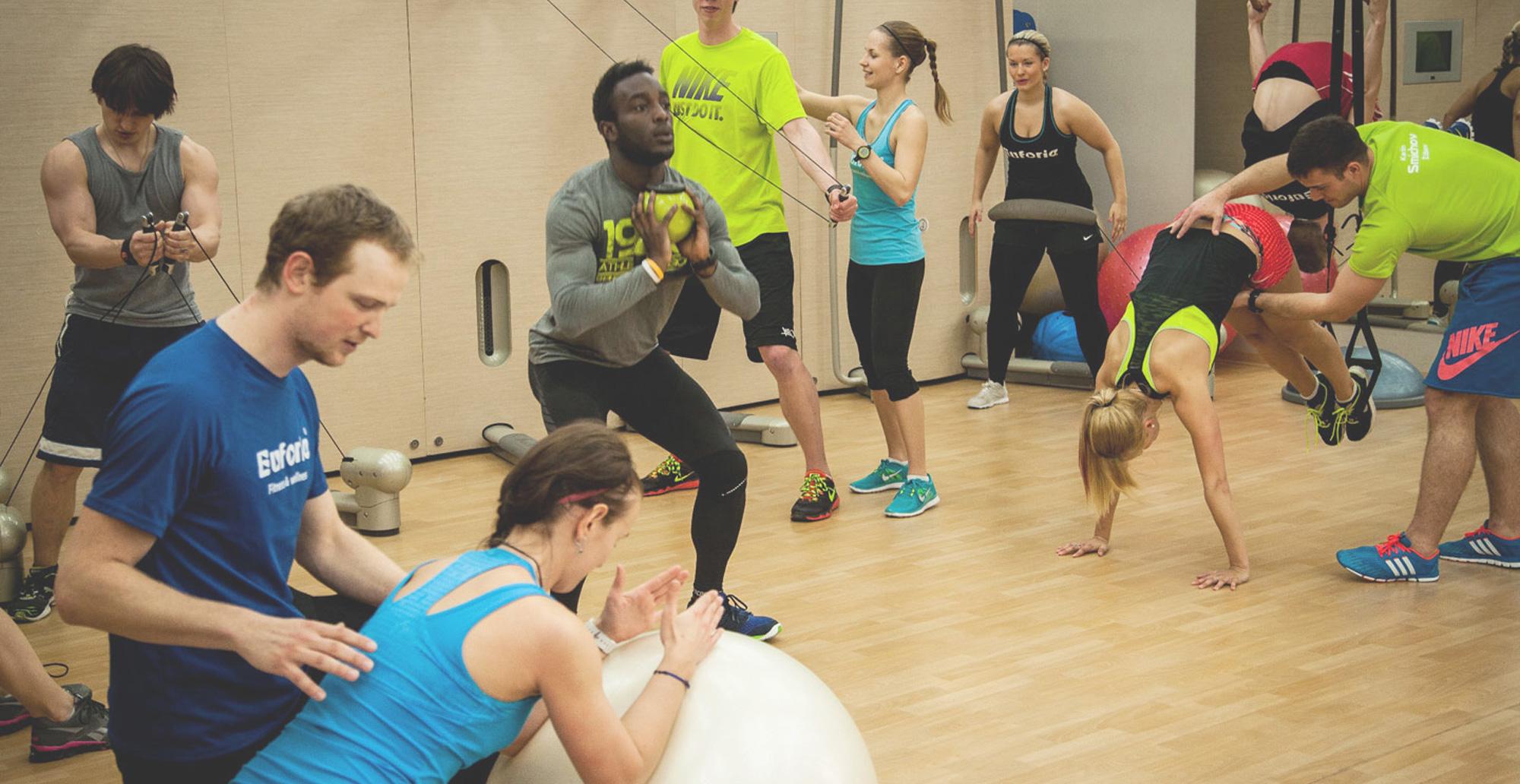 Osobní trénink - Euforie Fitness a Wellness Praha 12eabfb645